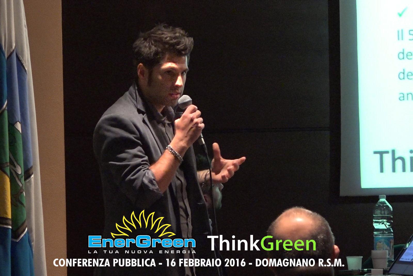 Think Green 2016: un Workshop a cura di Energreen